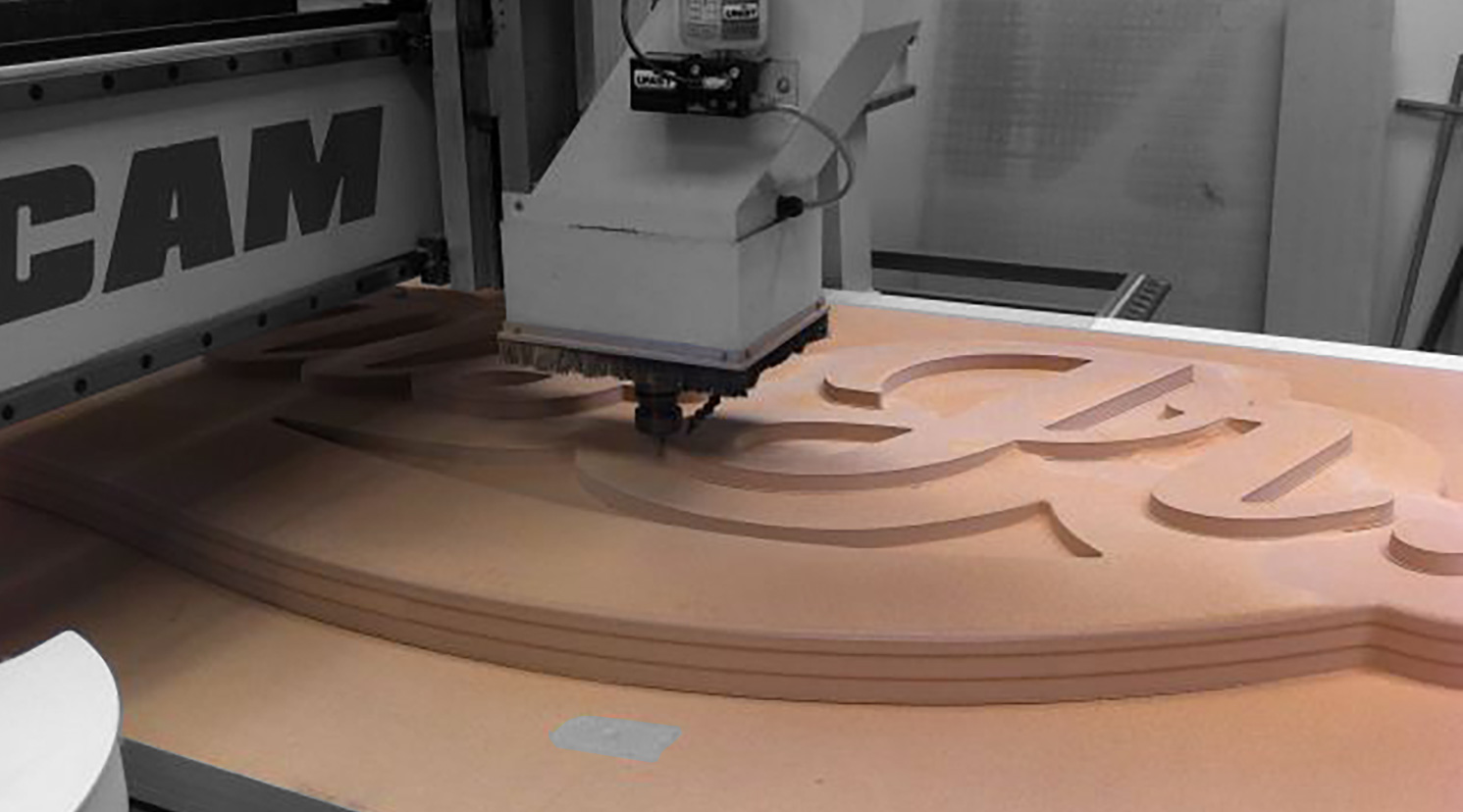 CNC Routing on Timber